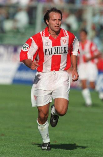 Giovanni Cornacchini Fiorentina-Vicenza 2-4 8 Settembre 1996 Serie A 1996-1997